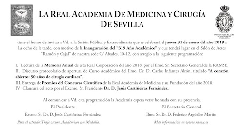 Inauguración del «319 Año Académico»