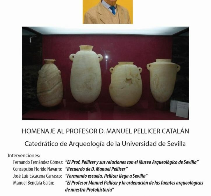 Homenaje al Profesor D. Manuel Pellicer Catalán.