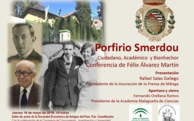 Conferencia: «Porfirio Smerdou»