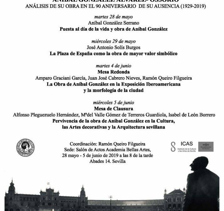 Mesa de clausura Aníbal González Álvarez-Ossorio