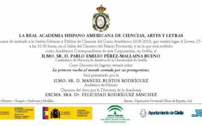 Clausura del Curso Académico 2018-2019