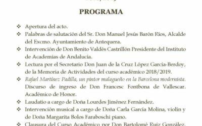 Solemne Acto de Clausura del Curso Académico 2018/2019