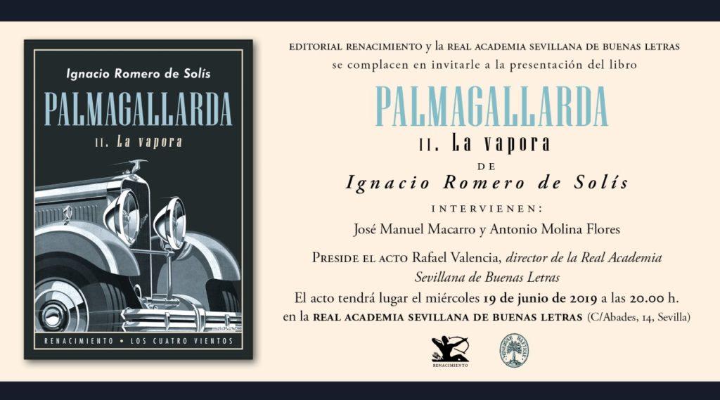 Presentación del libro: «PALMAGALLARDA II La Vapora»