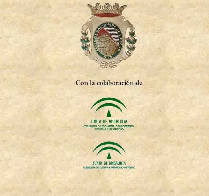 I Ciclo de Conferencias: «Historia de la Sociedad/ Academia Malagueña de Ciencias»