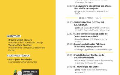 (APLAZADA) Jornada sobre Retos de la Economía Española