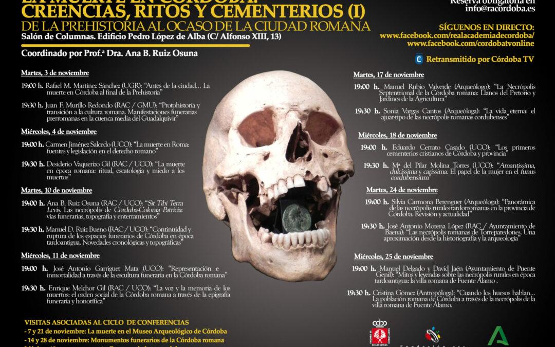 Jornadas: «La muerte en Córdoba»