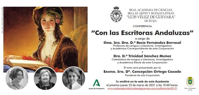 Conferencias: «Con las Escritoras Andaluzas»